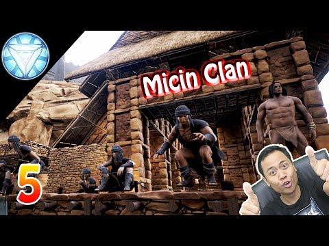 NYERANG CAMP MUSUH !!! - Conan Exiles Indonesia