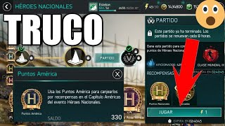 ¡¡NUEVO TRUCO!! HÉROES NACIONAL PARA TENER LA MAYOR CANTIDAD DE PUNTOS DE NACIONALES//FIFA MOBILE 18