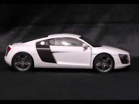 My new Kyosho Audi R8 in Suzuka Grey. This is one of the best colours I've