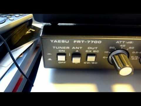 Sudan Radio Service 17745 khz Sony ICF-SW7600