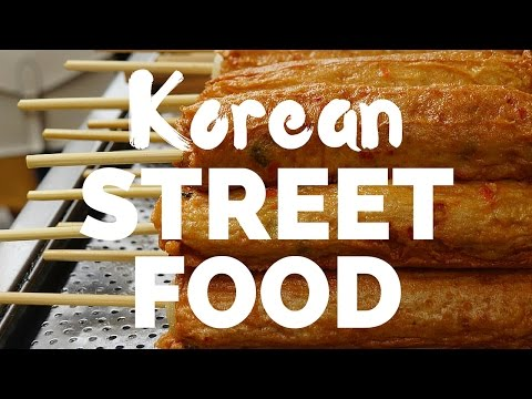 KOREAN STREET FOOD IN SEOUL, KOREA - 포장마차