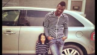 P-Square's Peter Okoye and son pose up in matching outfits!.