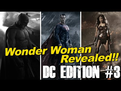 Wonder Woman revealed, Batman and Superman face-off at SDCC 2014 - [DC EDITION #3]