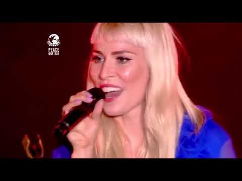 NATASHA BEDINGFIELD live @ Peace One Day The Hague