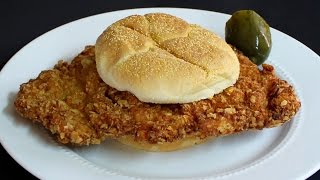 Breaded Tenderloin Sandwich - Homemade Recipe with Michael's Home Cooking