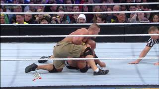 John Cena vs. The Rock - WWE Championship Match: WrestleMania 29