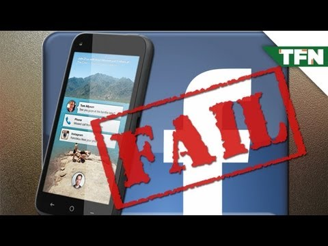 FAIL: HTC First, the Facebook Phone
