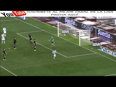 Real Sociedad vs Racing de Santander 3-0 Gol Carlos Vela - Copa del Rey - AllGoalsLFP