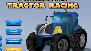 Play Futuristic Tractor Racing Game