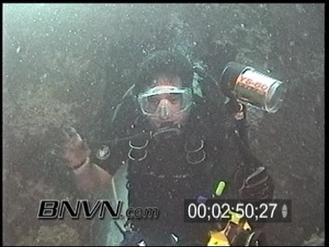 9/1/2000 Gulf Of Mexico - Sheridan Wreck and Jelly Fish Video