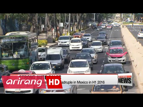 Hyundai, Kia sales nearly quadruple in Mexico in H1 2016