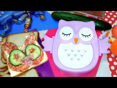 Ланч бокс в Школу/ На Работу    Back To School / Lunch Box - идеи   Alina Zosim