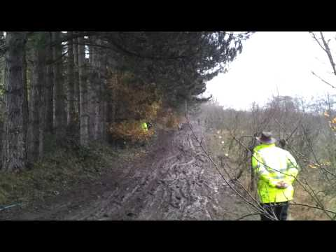 Simon Diffey at Cotswold trial 2012