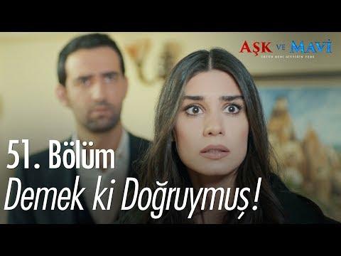 Mavi, Ali'ye yakalanıyor - Aşk ve Mavi 51. Bölüm