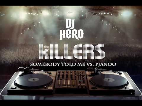The Killers - Somebody Told Me vs Eric Prydz - Pjanoo