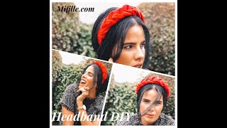 How To Make A Braided Headband DIY