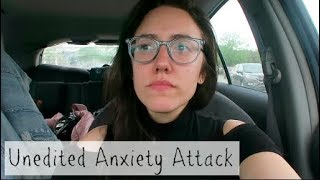 UNEDITED ANXIETY ATTACK | Katie Carney
