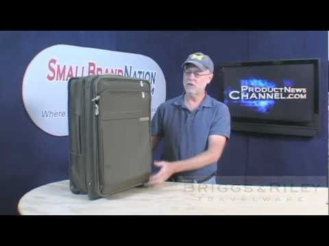Briggs Riley CX Baseline Carry On Luggage Product News Channel With Billy Carmen