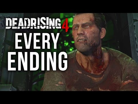 Dead Rising 4 FRANK RISING EVERY ENDING - Good / Bad Endings & Timed out