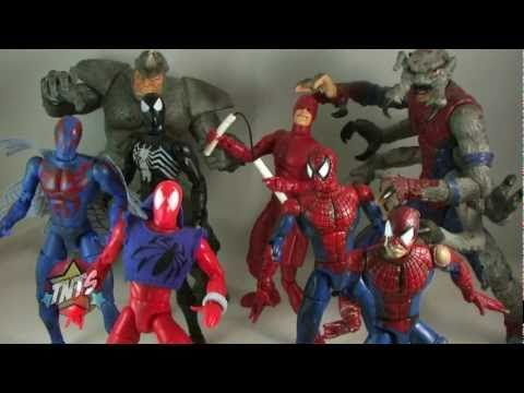 Toy Biz Spider-Man Classics Toy Line Video Review