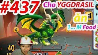 ✔️ Cho YGGDRASIL ăn thức ăn vs Khủng Long Bạo Chúa Mới Nhất HIGH FERRAL DRAGON New 437