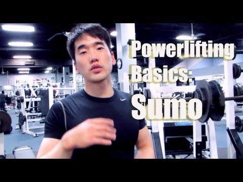 Powerlifting Basics: Sumo Deadlift (10/2/2013) Image 1