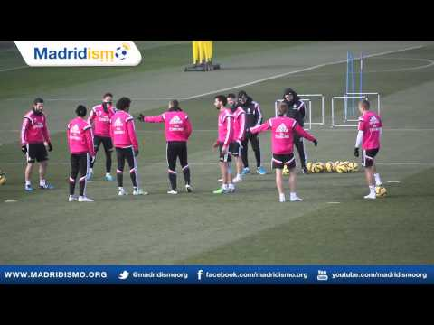 Real Madrid Training ahead of the Derbi vs Atletico (Corrected)