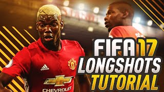 FIFA 17 LONG SHOT TUTORIAL! HOW TO SCORE DRIVEN & FINESSE SHOTS! EASY SHOOTING TIPS & TRICKS!