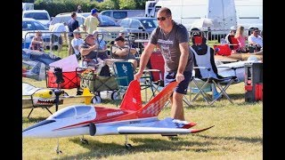 "AVIATION DESIGN ""SCORPION"" RC SPORTS JET DISPLAY - DARREN - WESTON PARK - 2018"