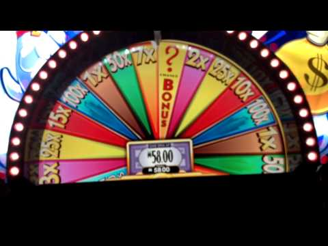 Super Monopoly Slot Bonus Wheel Spin