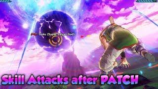 Skill Attacks after DLC 7 Update! More BROKEN SKILLS? - Dragon Ball Xenoverse 2