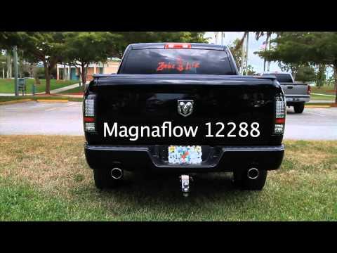 2012 Dodge Ram 1500 5.7 Hemi with Magnaflow exhaust P/N 12288