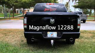 2012 Dodge Ram 1500 5.7 Hemi with Magnaflow exhaust P/N 12288