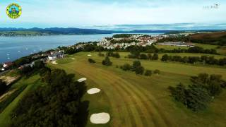 Gourock Golf Club - Hole#18 - FlyThru
