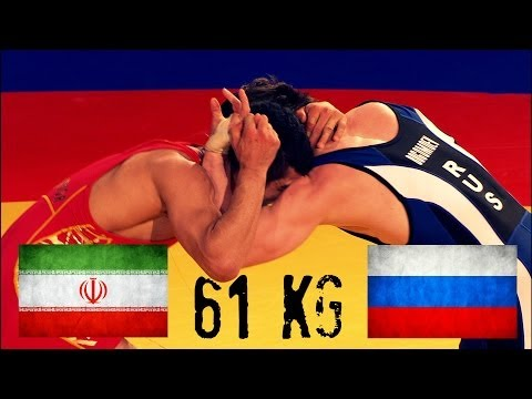 1st Place Match - 61Kg - Men's Freestyle Wrestling World Cup 2014 Image 1