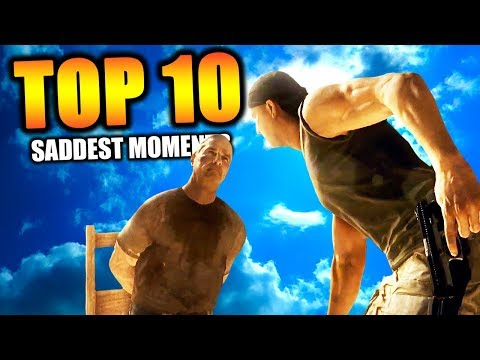 Top 10 SADDEST CAMPAIGN MISSIONS in COD HISTORY | Chaos