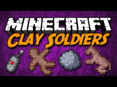 Minecraft [1.5.2] Clay Soldiers - Mod Review - [German HD]