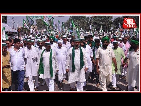 Farmers Strike : हज़ारों की तादाद में किसान ग़ाज़ियाबाद से दिल्ली की तरफ कर रहे कूंच