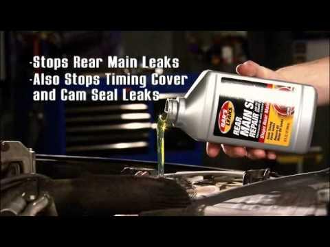 Bar's Leaks Tech Minute: Rear Main Seal Repair