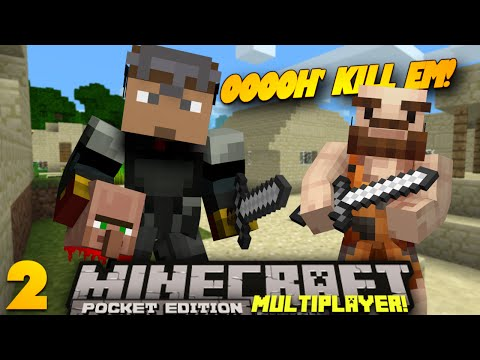 Minecraft PE Multiplayer 0.9.0 EP 2 KILL EM PE SMP w Sean Minecraft Pocket Edition Series