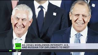 US & Russian top diplomats to discuss N.Korea, Ukraine, battle against ISIS in Syria & Iraq