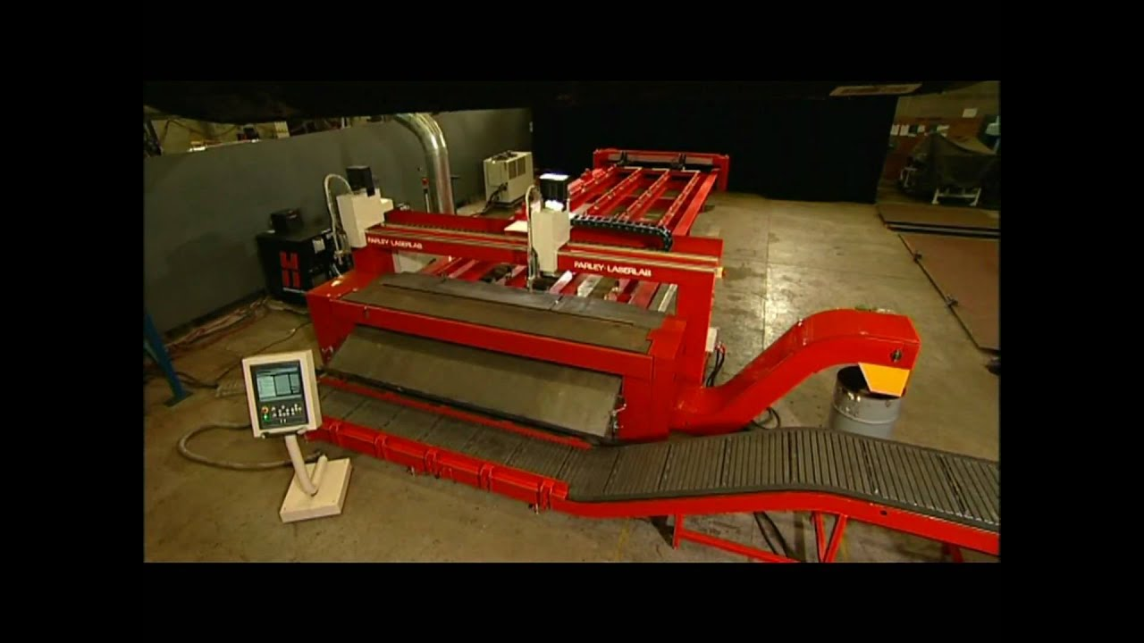 Merlin Plasma Cutter With Automatic Unloading For High