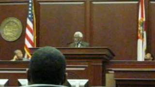 U's Ambassador To Haiti Raymond Joseph Speaks In Florida House Chamber Part 1