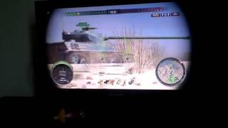 Just see this game (world of tanks ps4)