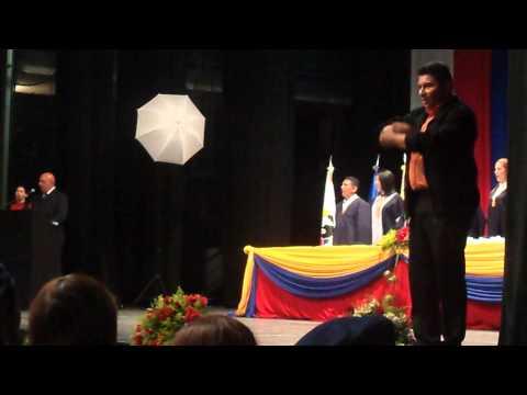 HIMNO NACIONAL DE LA REPÚBLICA BOLIVARIANA DE VENEZUELA  EN  LENGUA DE SEÑAS VENEZOLANA