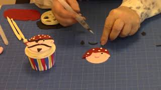 How to Make a Pirate Face Using the FMM Funny Faces and More Cutter