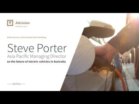 Steve Porter | Radio interview on electric vehicles in Australia