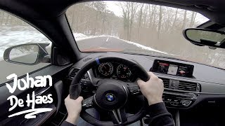 BMW M2 Competition 410 hp POV test drive