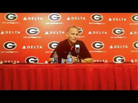 Mark Richt Postgame Press Conference Georgia vs. Vanderbilt September 22, 2012