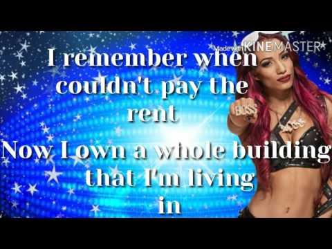 Sasha Banks Theme Song with lyrics 2016
